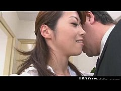 Japanese office babe Hojo...