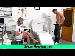 thumb hot mature l ady giving a handjob feat  dirty doctor beate