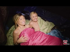 GIRLS GONE WILD - We Find Summer and Adriana Camping Alone