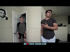 Clip sex BrotherCrush - Twink Younger Step Brother Gets His Asshole Penetrated While Sucking Cock
