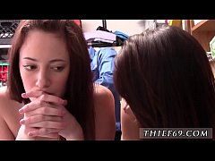 Stupid teen anal and latin double blowjob Two f...