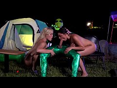 AmateurBoxxx - Katie Kush and Ella Cruz Probed by Area 51 Alien