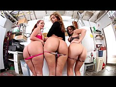 BANGBROS - Fuck Team Five With Sophie Dee, Isis Taylor and Reagan Conner