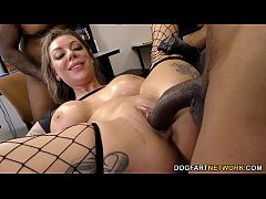 Tattoo Artist Karma Rx Gets Pounded Hard By Bla...