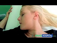 FakeHospital Doctors cock heals sexy squirting blondes injury