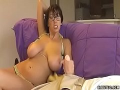Horny Milf Wants This Guy To Spurt Loads Of Cum
