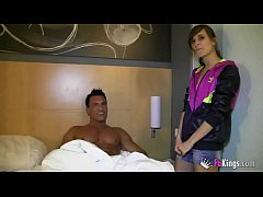 Ainara gets in bed with her idol Marco Banderas in her best fuck ever