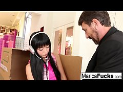 Sex robot Marica gets anally charged by Steve H...