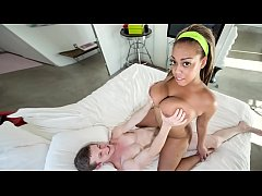 "BANGBROS - Busty Black Babe ""Monica"" Making All..."