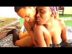 Horny Black Couple Intense...