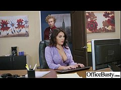 (Valentina Nappi) Girl With Round Big Tits In Hard Style Sex In Office clip-29