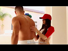 Passion-HD - Two teens fucked in threesome after baseball game