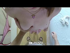 POVD - Hot teen Jackie Marie gets a thorough ma...