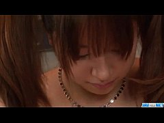 Buruma Aoi amazes with her big tits and smooth lips