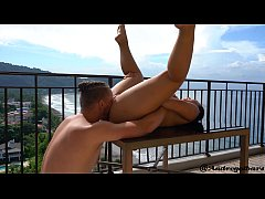 Fucking on the Penthouse balcony in Jaco Beach ...