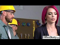 Horny Girl (anna bell peaks) With Big Juggs Hard Banged In Office mov-04