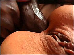 Interracial threesome for a...