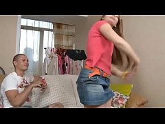 Her boyfriend changes candy for anal \/ Kristy A...