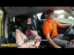 Fake Driving School Lady Dee sucks instructor's...