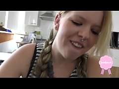 thumb shy blond te en with huge boobs gets fucked hard