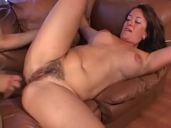Horny stud getting a BJ after licking pussy the...