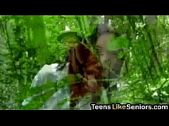 Teen gets sixty nine and pounding from senior i...
