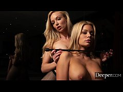 Deeper. Outer Limits for Kayden Kross and Riley...