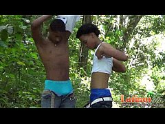 Horny Latin twinks in...