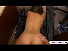 Amateur woman screwed by nasty pawn guy at the pawnshop