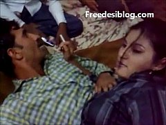 Desi Girl and Boy Enjoy in Hotel Room With Hind...