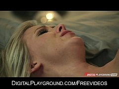 Bibi Jones is fucked deep & takes her husband's...