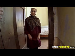 Poor Arab Girl Desperate...