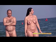 Voyeur Amateurs NUDIST Beach - Hidden Cam Close...