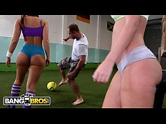 BANGBROS - Epic Ass Parade Soccer Game With PAW...