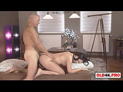 Clip sex she celebrates with an old man
