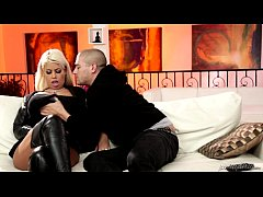 Latina stepmother loves her son's fat dick