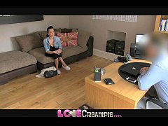 Love Creampie Sweet young amateur gets her puss...