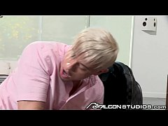 FalconStudios - Cute Blonde Gets Fucked At The ...
