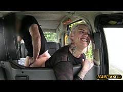 Hottie blonde passenger gets missionary pussy f...