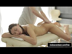 Pigtailed teen Lusil gets...