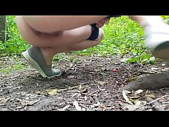 ANAL FUCKING in the Park with beautiful babe Evelina Darling ( full version )