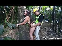 Hippie Teen Offers Herself to Save Tree