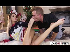 LoveHerFeet - All I Want For Christmas Is My Two Feet Fucked