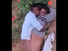 Old couple fucking outdoor in South Africa