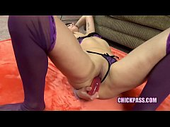 ChickPass - Busty housewife Lavender Rayne gets...