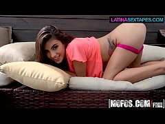 (Michelle Martinez) - Brunette Dirty Talks in Spanish - Latina Sex Tapes