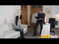 Fake Agent Lilu Moon show of all her sex skills in interview