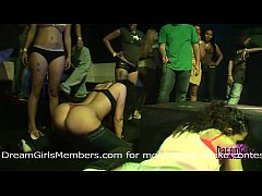 Tiny Panty Twerking Contest At Local College Bar