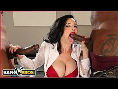 BANGBROS - Veronica Avluv Takes Big Black Dicks And Squirts All Over The Place