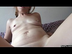 Amateur Girl Plays With Her Favorite Toy